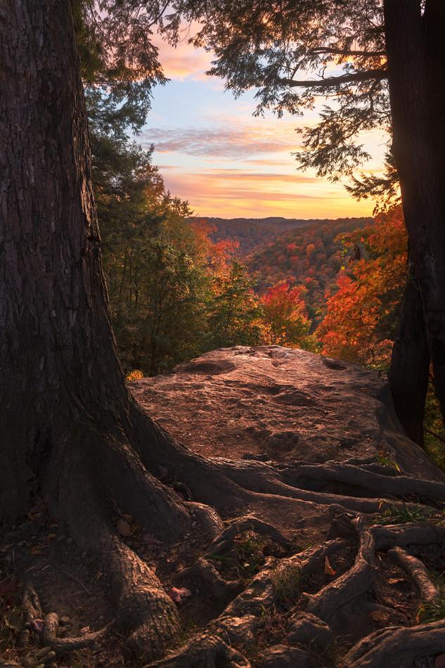 Autumn in the Appalachian Mountains