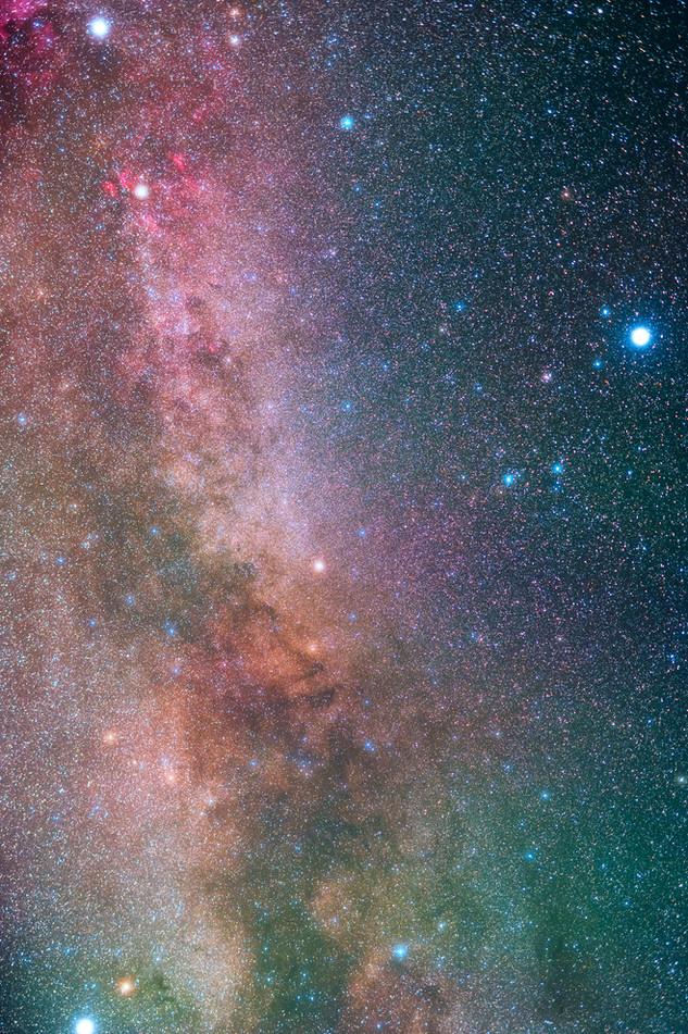 Summer Triangle Milky Way