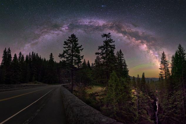 Milky Way from Mount Rainier