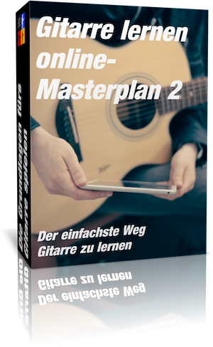 Gitarre lernen online Masterplan 2 Cover