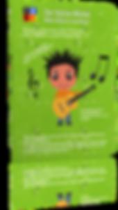 Der kleine Michel Buch Gitarre lernen Ki