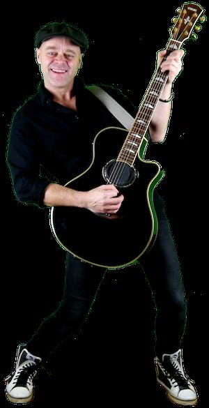 Michel Gitarre Webseite stehend PNG Mast