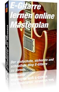 E-Gitarre lernen online Masterplan Cover