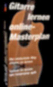 Gitarre lernen online Masterplan 1 Cover