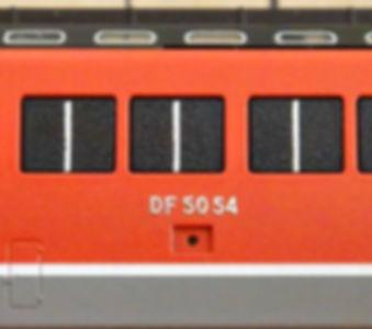 KATO, DF50, 7009, 7009-1, 7009-2, インレタ, 転写シール, メタルインレタ, 転写, 古いインレタ2