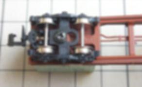 KATO 中空軸車輪(黒)11-606、チキ5000(8044)