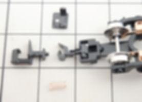 カプラー交換 TOMIXマルチレールクリーニングカー(6425)、KATOカプラーN(11-702)