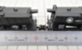 河合, カワイ, 貨車, カプラー交換, 車間短縮カプラー(28-187), ナハフ11かもめナックルカプラー(Z05-1376), KATO, ホキ5700, 小野田セメント, 日立セメント