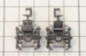 ポポンデッタ ホキ10000(7203)のアーノルドカプラーをKATO車間短縮カプラー(28-187)とナハフ11かもめナックルカプラー(Z05-1376)にカプラー交換、カプラーポケット外し方