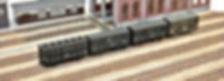 アシェット, 日本の貨物列車, KATO, カトー, 2軸貨車, カプラー交換, KATOカプラー化, 車間短縮ナックルカプラー(28-188), ナハフ11かもめナックルカプラー(Z05-1376), TOMIX