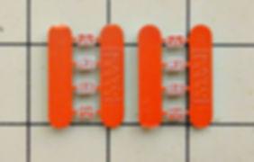 KATO, DF50, 7009, 7009-1, 7009-2, インレタ, 転写シール, メタルインレタ, メーカーズプレート1