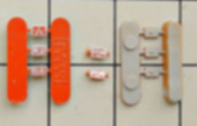 KATO, DF50, 7009, 7009-1, 7009-2, インレタ, 転写シール, メタルインレタ, メーカーズプレート2