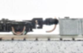 車間短縮, 自動連結, 突き当て連結, EF66前期形ナックルカプラー(Z01-0224), CSナックルカプラー(Z01-0282), カプラー交換, KATO, ボギー台車, GREENMAX, GREEN MAX, グリーンマックス, マニ44