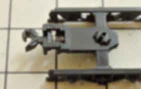 車間短縮, 自動連結, 突き当て連結, EF66前期形ナックルカプラー(Z01-0224), 車間短縮ナックルカプラー(28-187) , CSナックルカプラー(Z01-0282), カプラー交換, KATO, ボギー貨車, ワキ5000, 香港TOMY, TOMIX