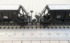 ポポンデッタ ホキ10000(7203)のアーノルドカプラーをKATO車間短縮カプラー(28-187)とナハフ11かもめナックルカプラー(Z05-1376)にカプラー交換