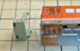 KATO, DF50, 7009, 7009-1, 7009-2, 運転台, 分解5, 窓