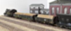 貨車, 無蓋車, 積荷, 車載, 積載, 貨物, 木材, 材木, 丸太, 自作, トラ, トキ, KATO, TOMIX,