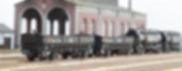 ポポンデッタ, ホキ8500, 7068, 7069, カプラー交換, 車間短縮ナックルカプラー(28-187), ナハフ11かもめナックルカプラー(Z05-1376)、三菱鉱業セメント