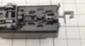 TOMIX C57(2003,2007)、カプラー交換、KATOナックルカプラー、CSナックルカプラー(Z01-0282)、ナハフ11かもめナックルカプラー(Z05-1376)