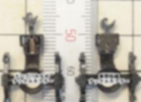 TOMIX, ボギー貨車, KATO, 車間短縮ナックルカプラー(28-187), ナハフ11かもめナックルカプラー(Z05-1376 ), カプラー交換, トミックス