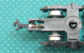 車間短縮, 自動連結, 突き当て連結, ナハフ11かもめナックルカプラー(Z05-1376), カプラー交換, KATO, ボギー台車, GREENMAX, GREEN MAX, グリーンマックス, マニ44