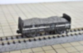 ホッパー, 無蓋貨車, 積荷車載積載, 自作, バラスト, 石灰石, KATO, TOMIX, ホキ800, ポポンデッタ, トラ40000