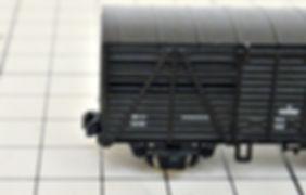 アシェット, 日本の貨物列車, KATO, カトー, 2軸貨車, カプラー交換, KATOカプラー化, 車間短縮ナックルカプラー(28-188), ナハフ11かもめナックルカプラー(Z05-1376)