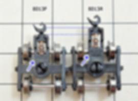 車間短縮, 自動連結, ナハフ11かもめナックルカプラー(Z05-1376), 車間短縮ナックルカプラー(28-187), カプラー交換, KATO, ボギー貨車, タキ3000, タキ9900, タキ35000, タキ43000