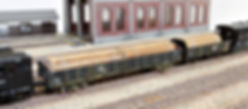 貨車, 無蓋車, 積荷, 車載, 積載, 貨物, 木材, 材木, 丸太, 自作, トラ, トキ, KATO, TOMIX