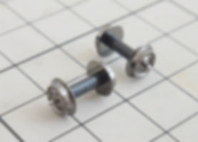 KATO 中空軸車輪(黒)11-606