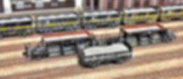 ホッパー, 無蓋貨車, 積荷車載積載, 自作, バラスト, 石灰石, KATO, TOMIX, ホキ800, ポポンデッタ, トラ40000, ホキ, セキ, 伯備線