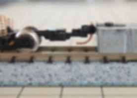 TOMIXマルチレールクリーニングカー(6425)、KATOカプラーN(11-702)、スタンダードゲージ(11-716)