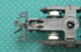 車間短縮, 自動連結, 突き当て連結, KATOカプラーN JP A (11-721), カプラー交換, KATO, ボギー台車, GREENMAX, GREEN MAX, グリーンマックス, マニ44