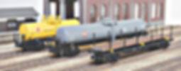TOMIX, ボギー貨車, KATO, 車間短縮ナックルカプラー(28-187), ナハフ11かもめナックルカプラー(Z05-1376 ), カプラー交換, トミックス, チキ7000(2774), タキ5450(2775), タキ25000(2776)