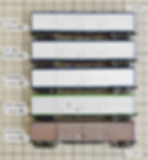 KATO, スユ44(8026), スニ40(8005), ワキ8000(8024), ワキ10000(8004), ワキ5000(8010), TOMIX, ワキ10000(8726), 車体長, 長さ, 全長, 郵便マーク, 床下パーツ, no.804