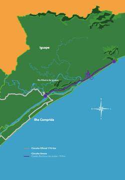 mapa anexo 2 - costao rochoso da jureia