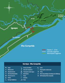trecho 1 - ilha comprida à Iguape