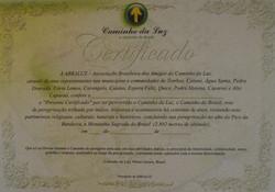 byt - Certificado Caminho Luz