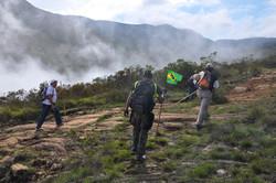 byt - subindo Pico Bandeira