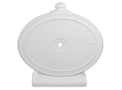 Funky Clock Oval