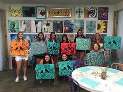 Cocktails & Canvas Art Classes