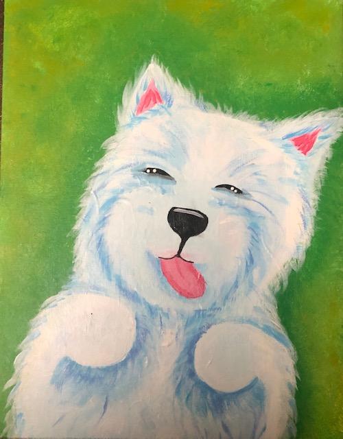 Pup White