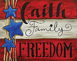 Faith, Family, Freedom