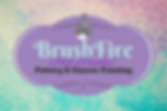 Brushfire Logo, Home page, pottery, art classes, clay, paint