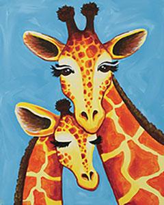 giraffe_family