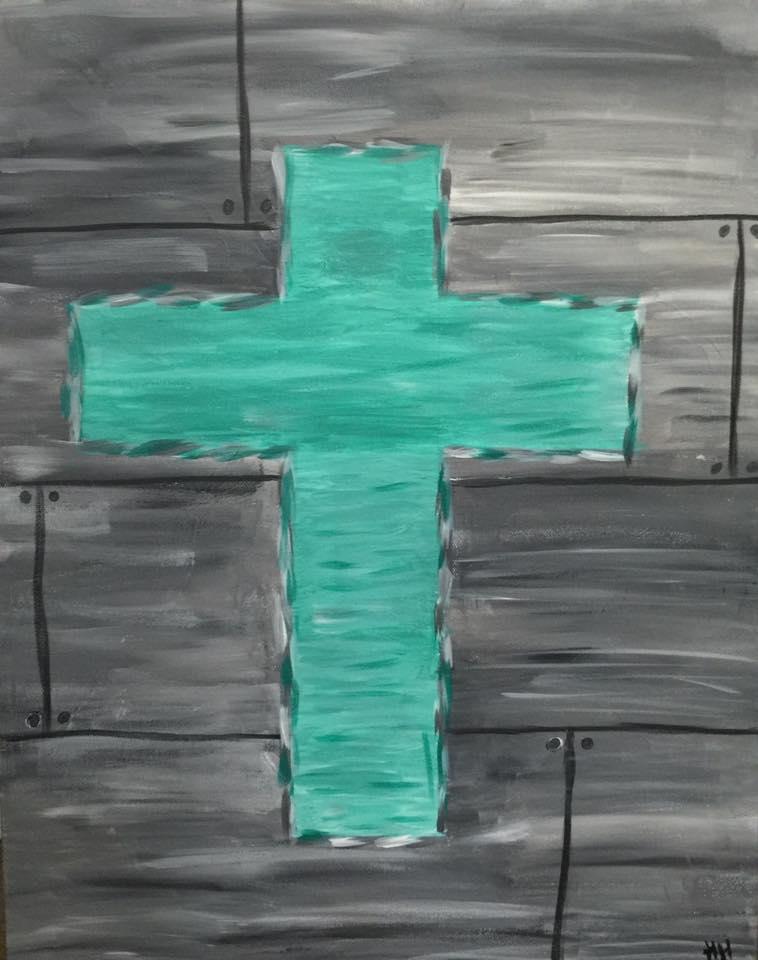 Shabby cross