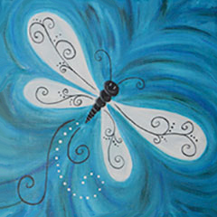 Dragonfly Drifting By