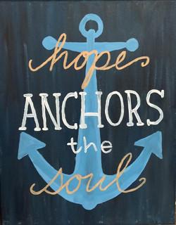 Love anchors the sou