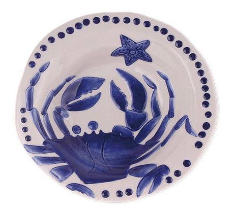 Crab design soup bowl