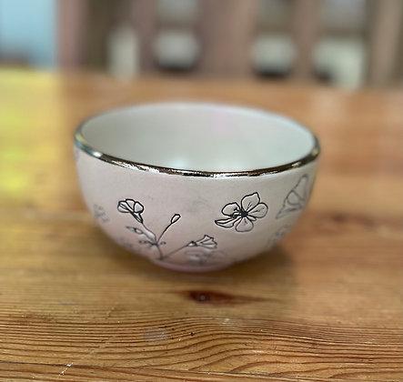 Wild flower large bowl